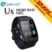 2016ใหม่ต้นฉบับU Watch UXสมาร์ทโทรศัพท์นาฬิกาบลูทูธS Mart W Atchกับอัตราการเต้นหัวใจเข้ากันได้กับAndroid