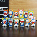 12pcs/lot Anime Doraemon Action Figure Toys, 12 Chinese Zodiac Constellation Cosplay Doraemon Figures Kid Toys, Anime Brinquedos