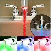 3-изменение цвета из светодиодов водопроводный кран крана с датчиком температуры
