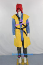 Dragon Quest Journey of the Cursed rei herói traje Cosplay incluem saco(China)