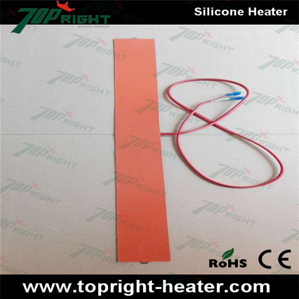 230v Flexible silicone rubber heating mat with CE certification ...