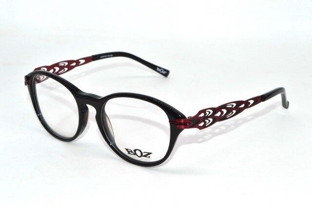 Ultralight platine temple trend round Optical Frames fashion women's custom made Prescription myopia glasses Photochrmic -1 to-6