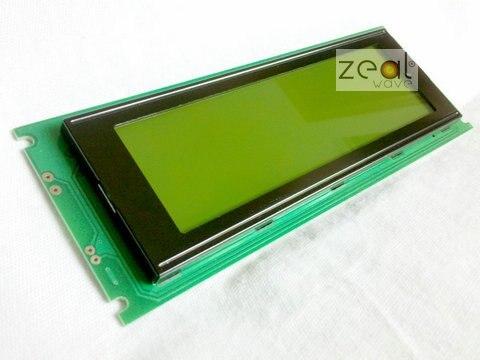 Новые Высокое качество 240x64 24064 графический матричный ЖК-дисплей модуль с желтый и зеленый цвета LED Подсветка,+ трек код