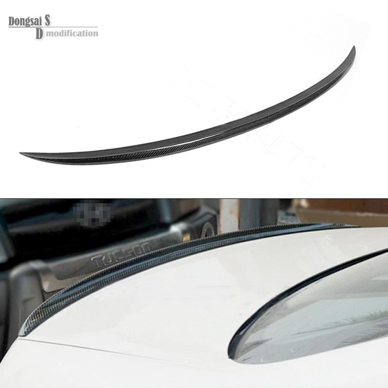 Серия 3 2006-2013 е93 кабриолет M3 в стиле углеродного волокна задний багажник спойлер крылья для BMW 3 серии e93 задний багажник губы 335i