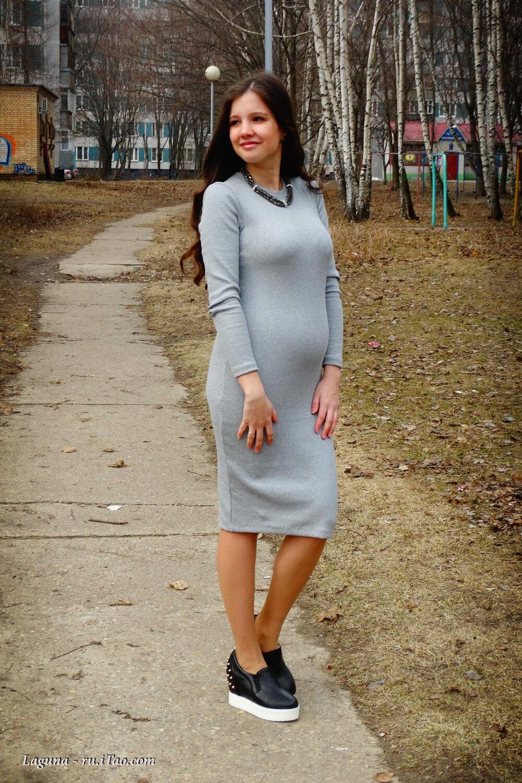 Платье-лапша 2017 (83 фото): с чем носить, ниже колена, с чем носить, черное, длинное, трикотажное, серое, с какой обувью носить.