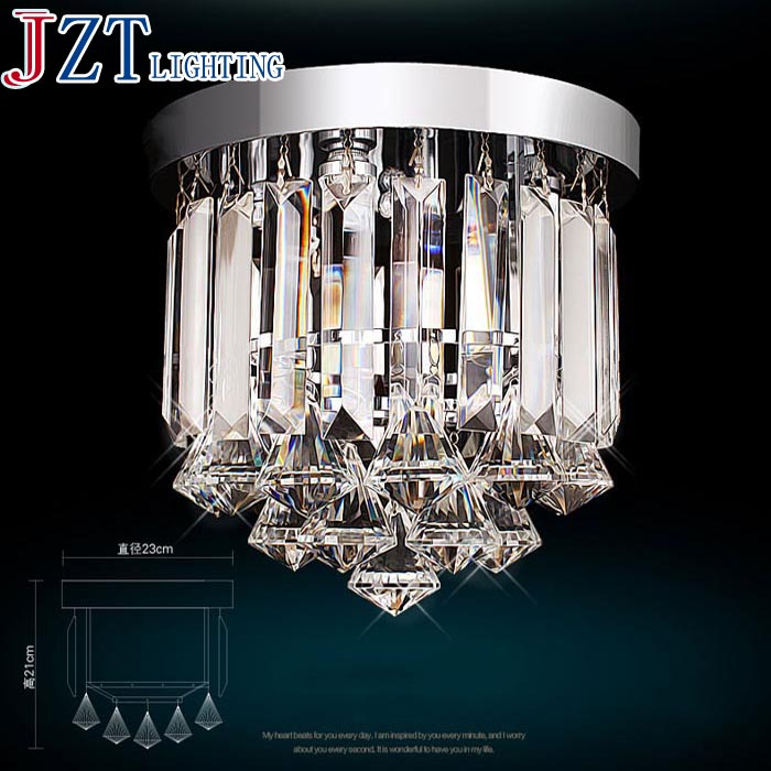 M Best Price Special K9 Crystal Absorb Dome Light LED Crystal Lamp Porch Lights/Hallway Lights/Corridors Crystal Lamp