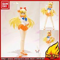 100% Original BANDAI Tamashii Nations S.H.Figuarts (SHF) Action Figure Sailor Venus from Pretty Guardian Sailor Moon
