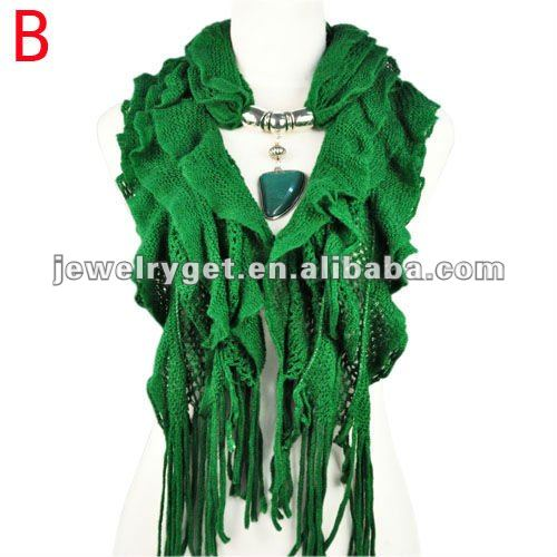 New design!women winter warm waved shaped pendant jewelry scarf  NL-1932 (7).jpg
