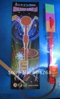 особое! 2010 игрушка из светодиодов удивительные стрелка вертолет зонтик полёт мешок opp мешок карта упаковка 50 шт/много