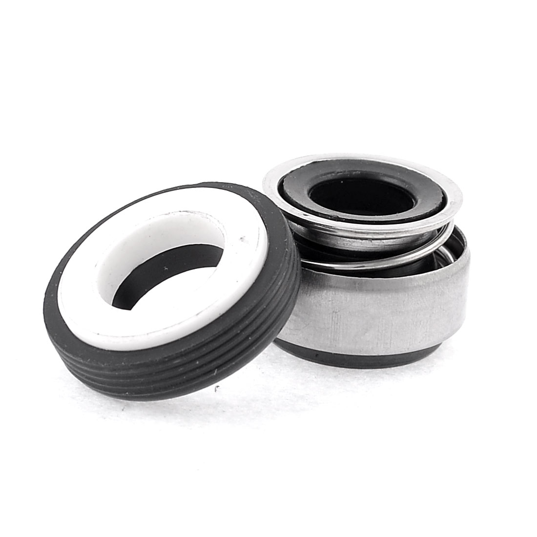 UXCELL Metal Spring 12Mm Inner Dia Rubber Bellows Water Pump Mechanical Seal