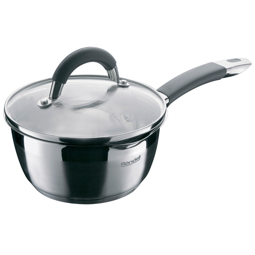 Saucepan with lid Rondell Flamme RDS-026 ковш rondell rds 026 flamme 1 3l