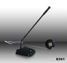 2 way przewodowy domofon E361 usługi domofon dla banku okno biurowe licznik okno domofon full auto