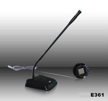 2 way wired intercom E361 service Interphone for bank office window counter window intercom full-auto