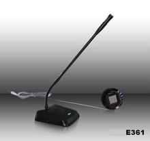 2 weg wired intercom E361 service Sprech für bank büro fenster zähler fenster intercom voll auto