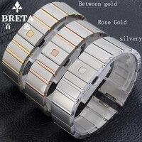 18MM23MM 25 MM OMG Constellation Double Aigle solide bande d'acier table entre couleur or or rose montre bracelet
