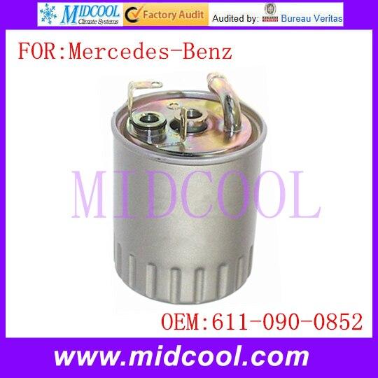 New Auto Diesel filtre à carburant usage OE no. 611 - 090 - 0852 pour Mercedes - Benz