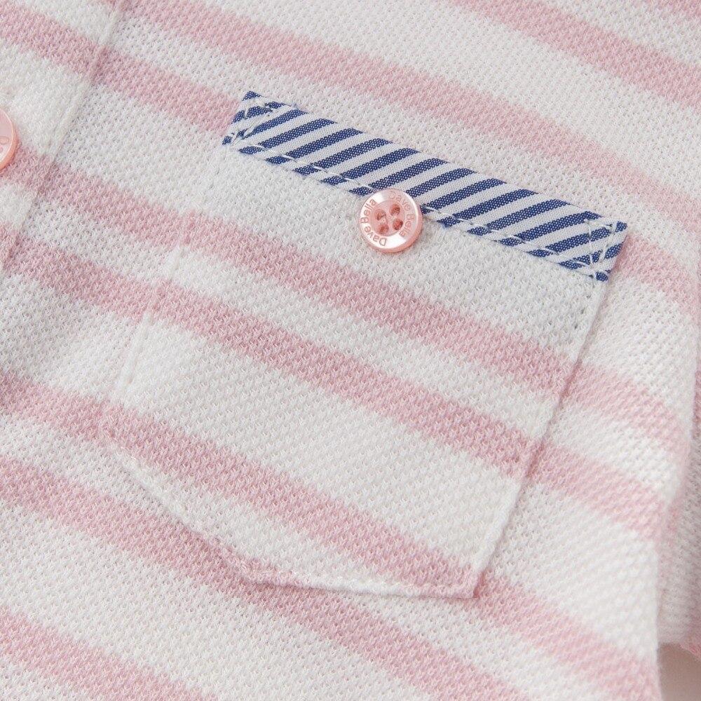 DB3780 dave bella yaz erkek bebek 100 pamuk t gömlek bebek giysileri - Çocuk Giyim - Fotoğraf 4