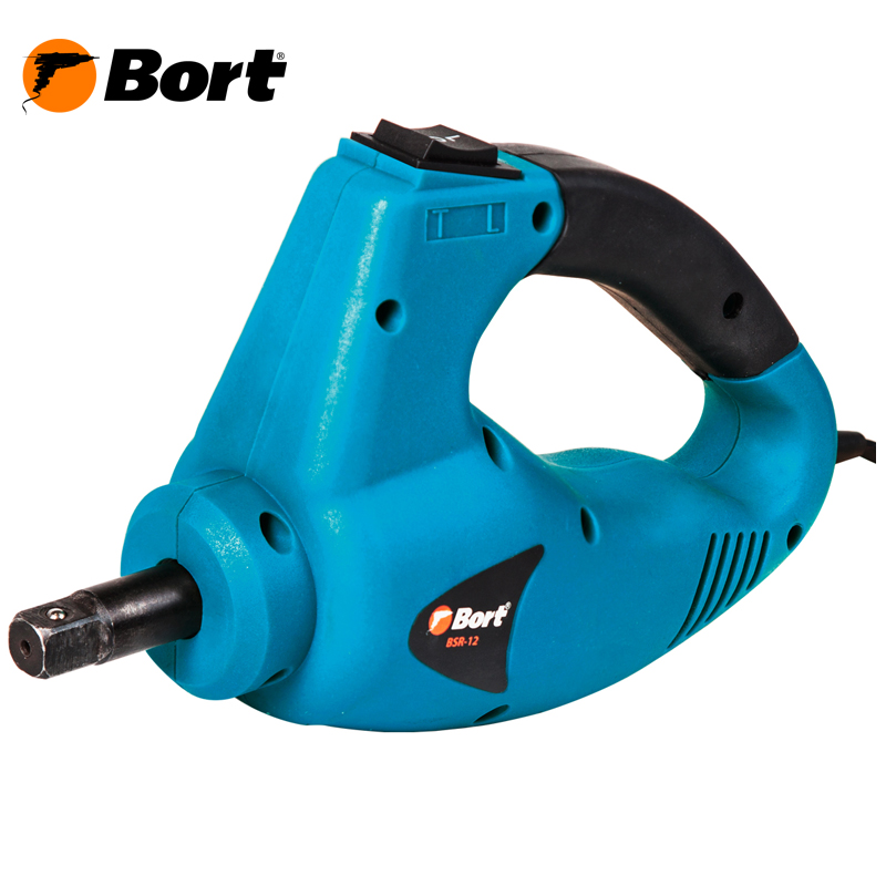 Corded impact wrench Bort BSR-12 lithium rechargeable electric wrench wrench cordless impact wrench scaffolding installation tool can change car wheel