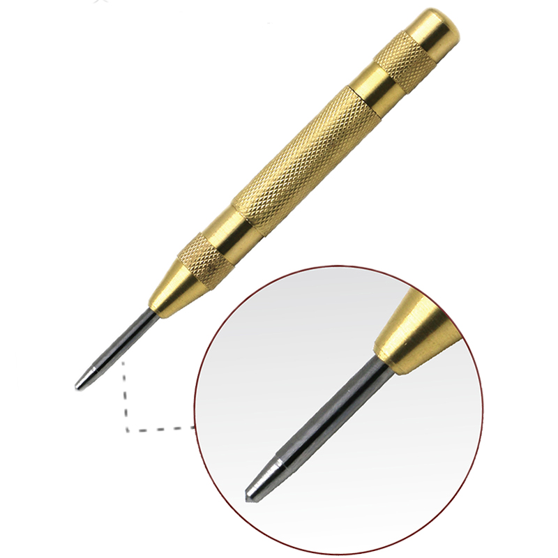 1 pc 5 Inch Automatic Center Pin Punch Spring Loaded Marking Starting Holes Tool 1 pc 5 Inch Automatic Center Pin Punch Spring Loaded Marking Starting Holes Tool