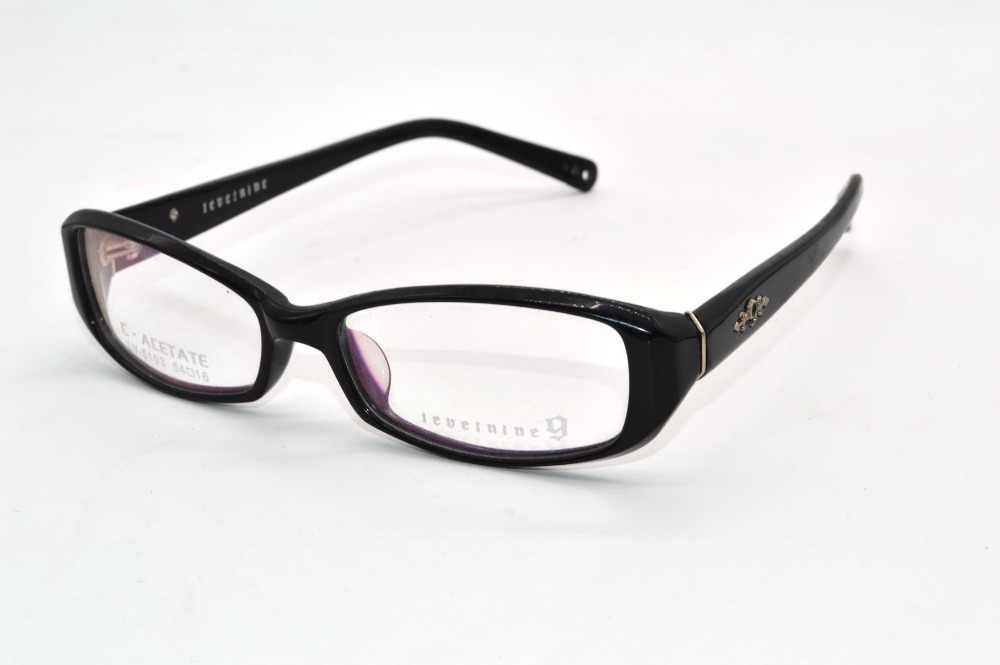 acetate frames handmade optical rim young lady line change stereo custom made prescription myopia glasses photochromic