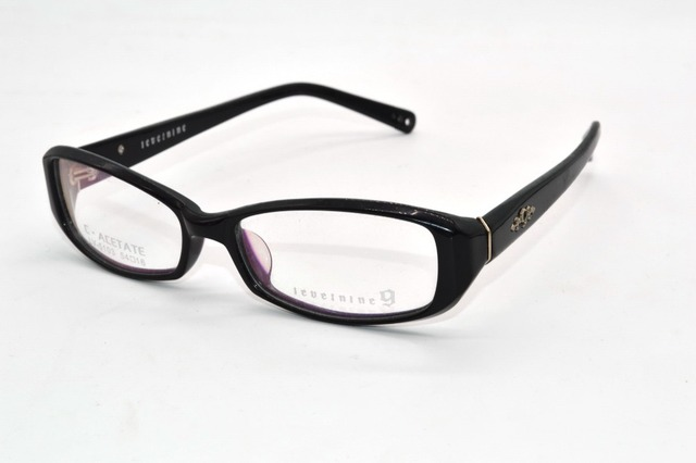 Acetate Frames Handmade Optical Rim Young lady Line change stereo Custom Made Prescription myopia glasses Photochromic -1 to -9
