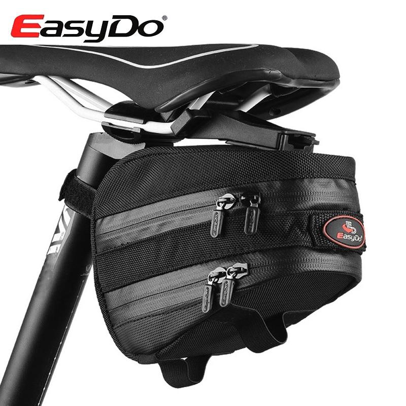 EasyDo Outdoor Waterproof Road Bicycle Accessories Mountain Bike Saddle Bag Cycling <font><b>Seat</b></font> Pack With <font><b>Rain</b></font> Cover Bici Bolsa
