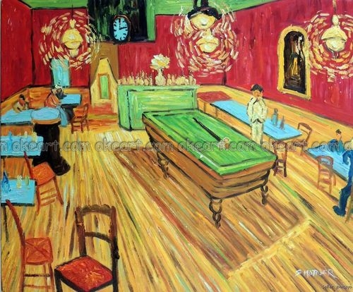 Hand Painted Pool Billiards Table In Bar Saloon Tavern Restaurant - Pool table painting
