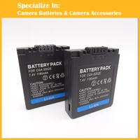 Security Replacement Digital Cemera Battery For Panasonic CGA S002 CGA S002A CGA S002E S002E DMW BM7