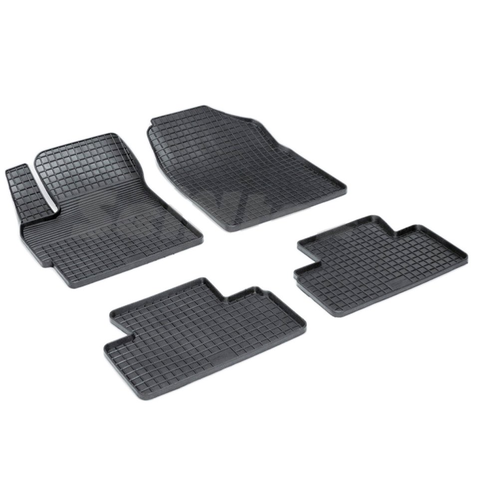 For Mazda CX7 2007-2012 rubber grid floor mats into saloon 4 pcs/set Seintex 00692 for mazda 6 2002 2008 rubber grid floor mats into saloon 4 pcs set seintex 00194
