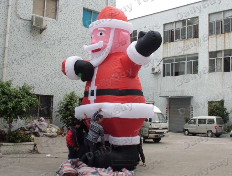 Dc02 надувные Санта Клаус фонтанная украшения ce/ul Fan 6 м 20ft высокое горячей продажи Новогоднее украшение отец Рождественская куклы
