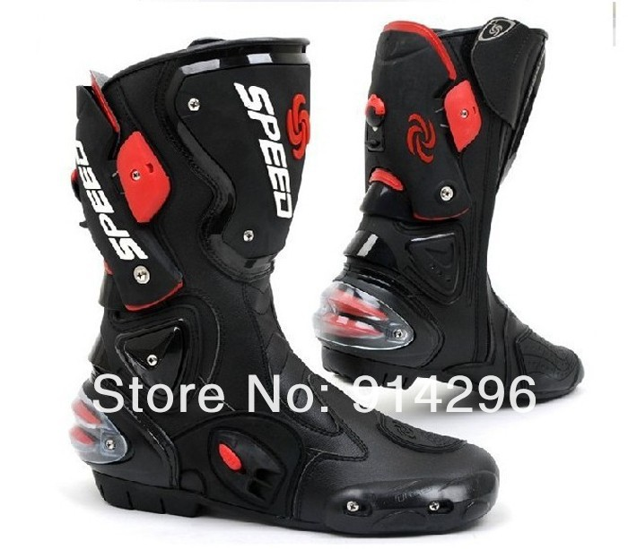 56859d4efe NEW Professional 40 45 Speed shoes motorcycle boots 4 Seasons moto ...