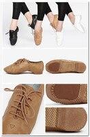 dttrol удобная исключительно мягкий кора кожа джаз танец обувь d004718