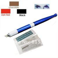 один пакет постоянный руководство синий цвет это постоянный макияж ручка Levi Шерил бесплатная доставка