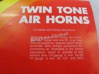 бесплатная доставка твин тон рога скутер части @ 87714