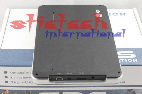 DHL или FedEx 50 штук без прибыли высокого качества HD 800*480 7 gps-навигатор с FM BT и AVIN 4 Гб Загрузка Новая 3D карта 256 Мб 8 Гб