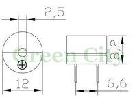 Акустические компоненты 100 /2 ,  3 v, 5 v 12 v