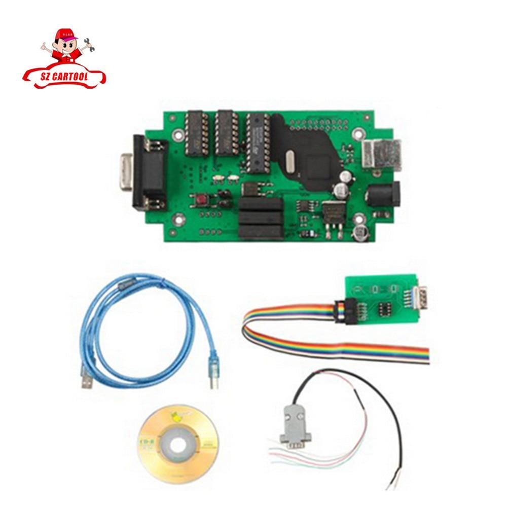 For BMW CAS4 Car Prog Universal EEPROM Programmer Tool ECU Chip Tunning No Need USB Key Fast erase all M35080 EEPROM series