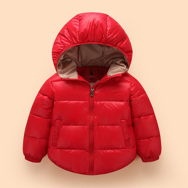 Kids Clothes Baby Boys Girls Winter Down feather Coat Children Warm Jackets Toddler Snowsuit Outerwear Coat Clothing