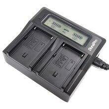 DuraPro Двойной ЖК-Быстрое Зарядное Устройство для SONY NP-F960 NP-F970 NP F960 F970 Аккумулятор и HVR-HD1000 HVR-HD1000E HVR-V1J