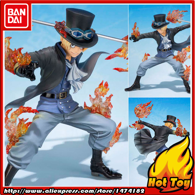 100% Original BANDAI Tamashii Nations Figuarts ZERO Action Figure - Sabo -5th Anniversary Edition- from ONE PIECE bandai f zero one piece bandai set 2 years after the ice fire fist 5 anniversary edition piece