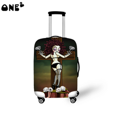 2016ONE2 Design fashion travel luggage cover travel bag cover lovely pattern for suitcase boys good quality China luggage cover
