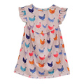 Hot Sale Baby Girls Lovely Dress Animal Pattern Sleeveless Kids Clothing Boutique Remake Spring Summer Children Dress E008
