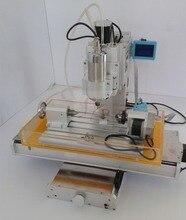 new 4 axis pillar type cnc machine CNC 3040 engraving machine Ball Screw Table Column Type