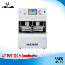 Best all-in-one 12 inch automatic OCA laminator no need air compressor vacuum pump defoam machine Russia free tax