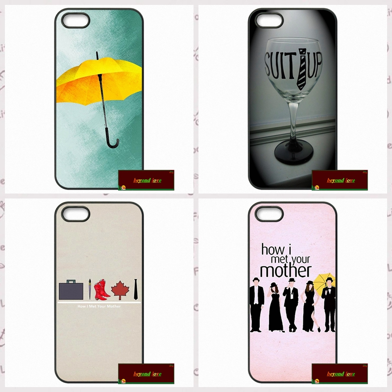 How I Met Your Mother HIMYM Capa Cover case for iphone 4 4s 5 5s 5c 6 6s plus samsung galaxy S3 S4 mini S5 S6 Note 2 3 4  DE0109