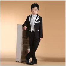 (coat + pants )Swallowtail Kids Suit Boys Wedding Party Dress Sets Children Wedding for Boys' Attire Free Shipping