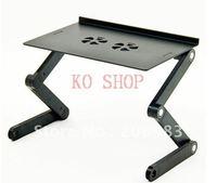 быстрая доставка регулировка ноутбук стол двойной мини-вентилятор складной стол складной маленький ноутбук стол с вентилятором с мышью джо доска