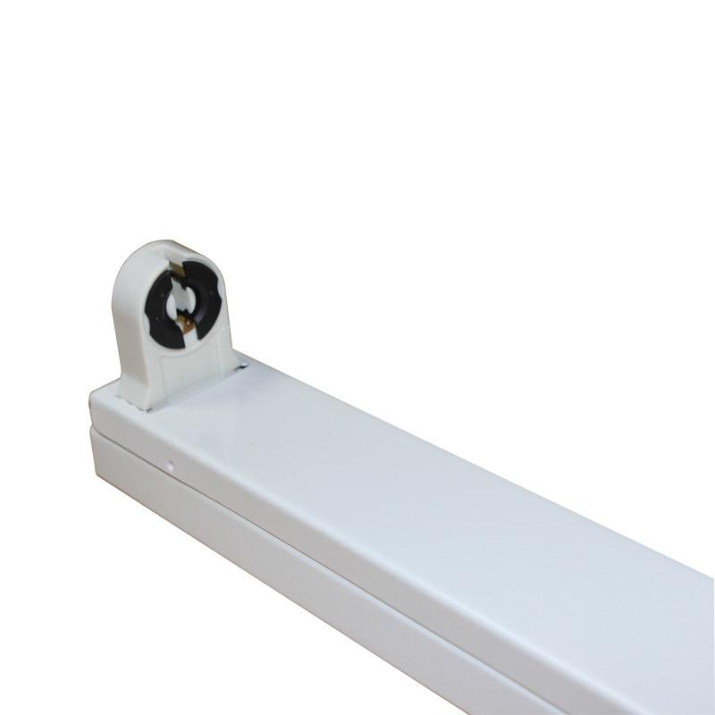 fluorescent light holder 1989 toyota truck wiring diagram 3pcs t8 led tube fixture 600mm 3ft bracket for caninet wall lamp ...