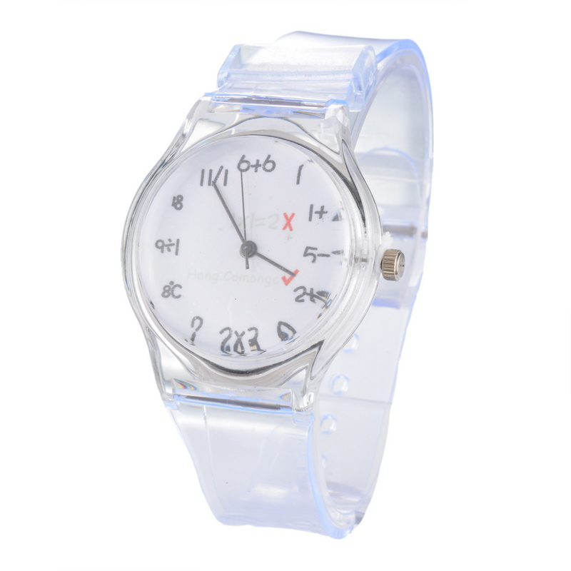 FUNIQUE Transparent Clock Silicone Watches Women Sport Casual Quartz Wristwatch Novelty Crystal Ladies Watch Cartoon Clock Gift чехлы для телефонов chocopony чехол для iphone 5 5s зеленая клетка