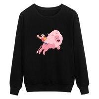 Autumn European Style Fashion Casual Mens Steven Universe Sweatshirt Man Fleece Hoodies And Sweatshirt Steven Universe
